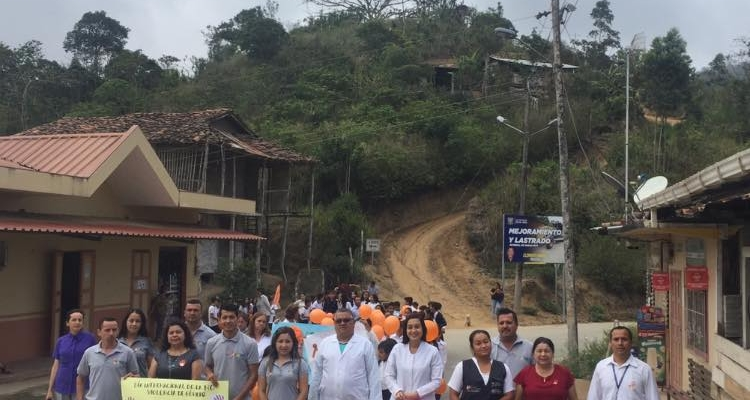 CAMINATA EN HONOR AL DIA INTERNACIONAL DE ELIMINACION DE VIOLENCIA CONTRA LA MUJER.